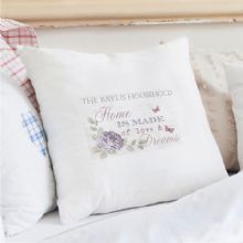 Personalised Secret Garden Cushion Cover P0510F20
